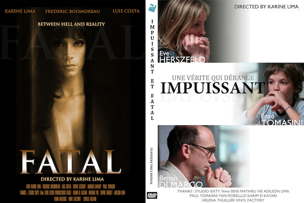 """Order a DVD - DVD including Awards winning short films""""Fatal"""" Suspense and """"Powerless"""" DramaIn French with English or Spanish subtitlesIncluding the making of and teasers of the shortsComing soon..."""
