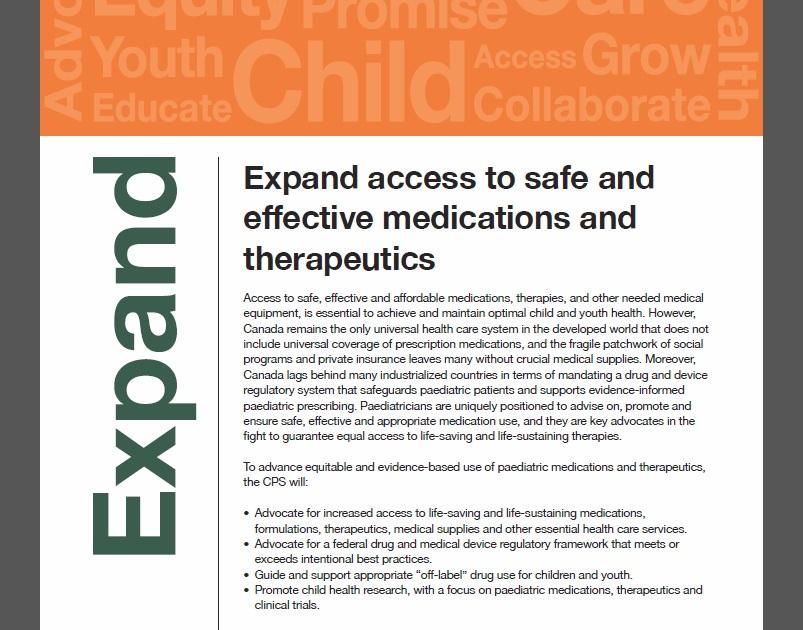 The Canadian Paediatric Society's  2017 – 2022 Strategic Framework