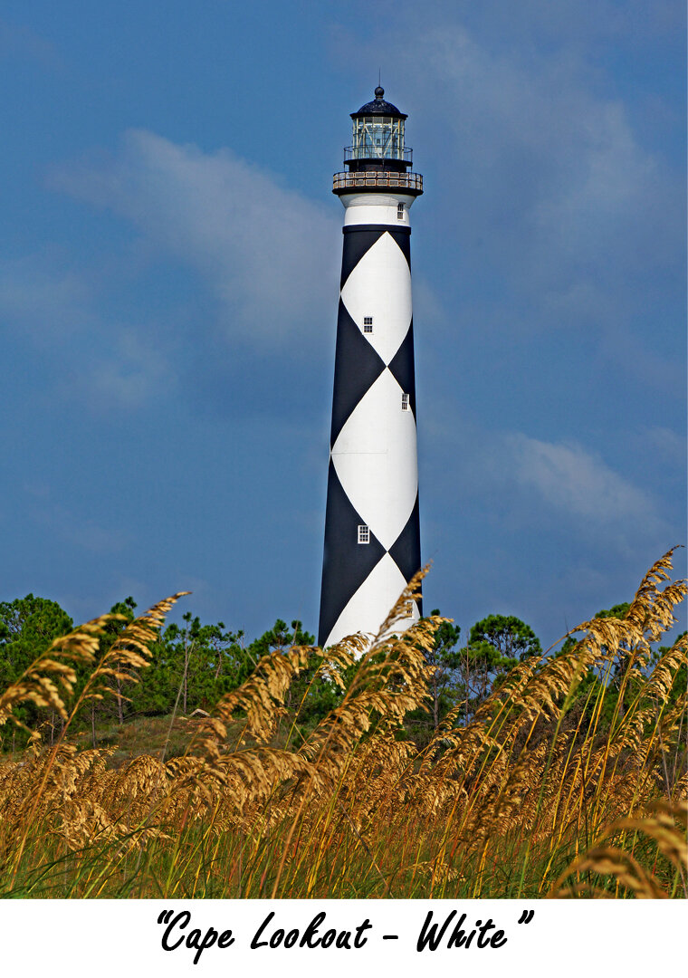 Cape Lookout Lighthouse White 18 x 24.jpg