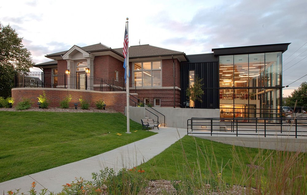 Northfield Public Library - New Addition , Northfield, MN - Photo by Kyle Huberty