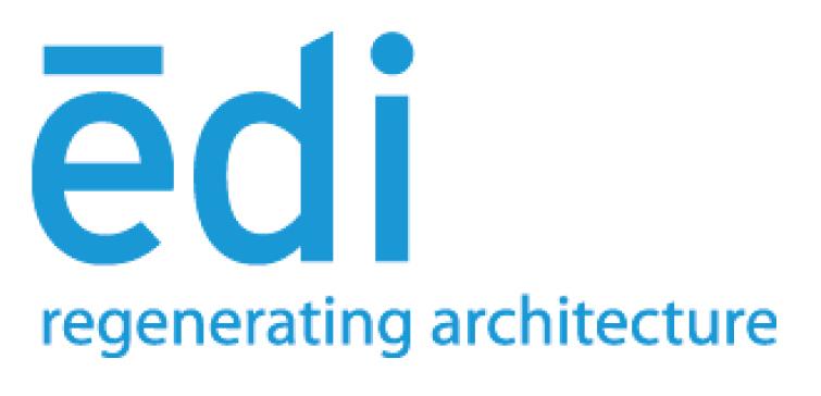 EDI's logo before rebranding as Equiterra