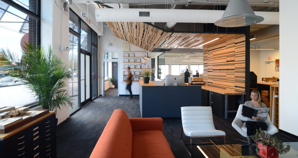 KITE Architects' office in Providence, RI (Photo credit: Albert Garcia)