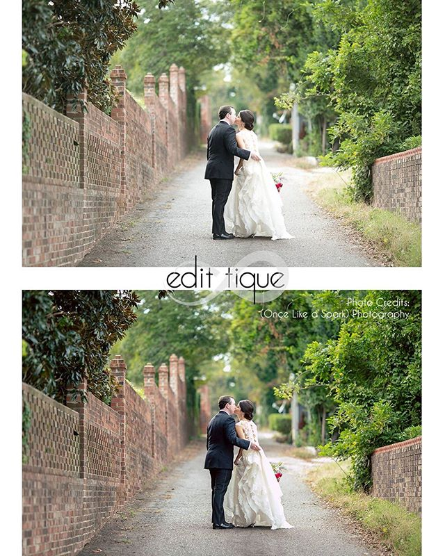 Wedding season is about to be in full force! Don't get bogged down by editing. Your images are already stunning, you just need those final tweaks to get them client ready. Check out these super minor adjustments putting the final touch on this beautiful image. Let me take on that wedding editing overload, reach out today!  www.edit-tique.com  #editing #wediting #retoucher #photoeditor #editlesslivemore #beforeandafter #lightroom #editingbeforeandafter #edittique