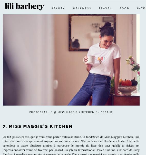 Lili Barbery - Février 2018 -