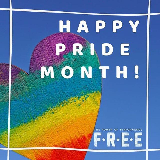 Wishing everyone a wonderful #pridemonth !
