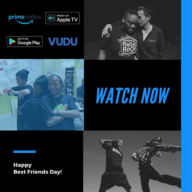 Experience something new with your best friend and watch an inspiring story of #oakland youth transcending their adversities with #dance and #spokenword ! Link in bio- now available on @appletv , @amazonprimevideo , @vudufans , & @googleplay_bestapps ! #bestfriendsday #youth #inspiration @destinyartscenter