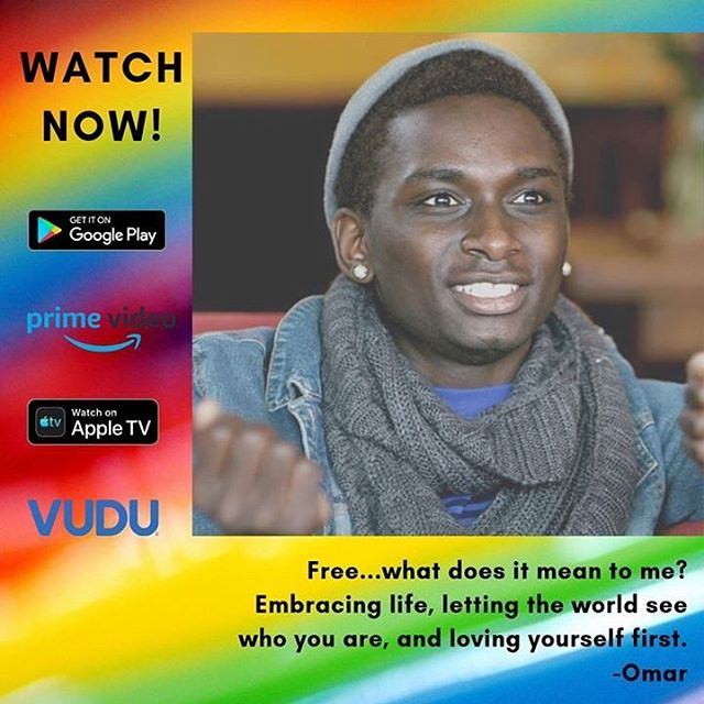 Happy #pridemonth2019 from @freethedocumentary ! @destinyartscenter help teens like Omar express themselves. Watch now on @appletv , @googleplay_bestapps , @amazonprimevideo , and @vudufans ! Link in bio!