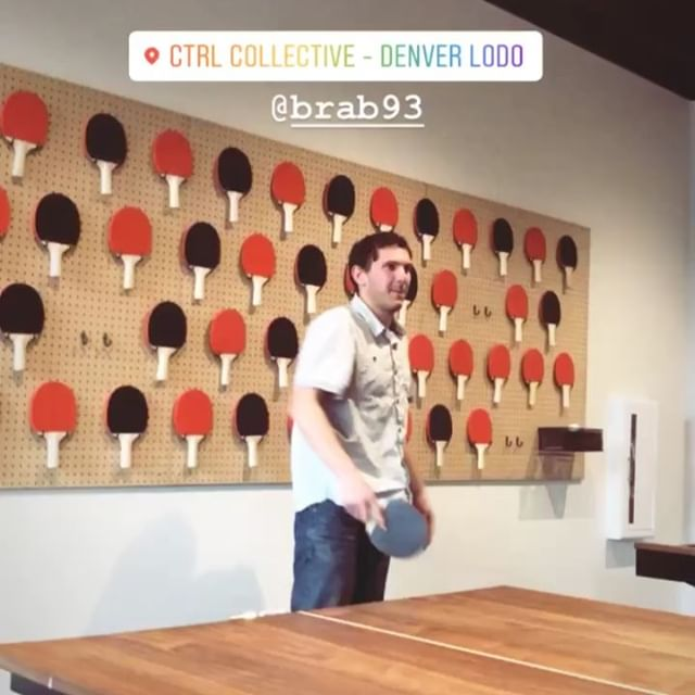 First annual Colorado Beverage Team ping pong tournament 🏓