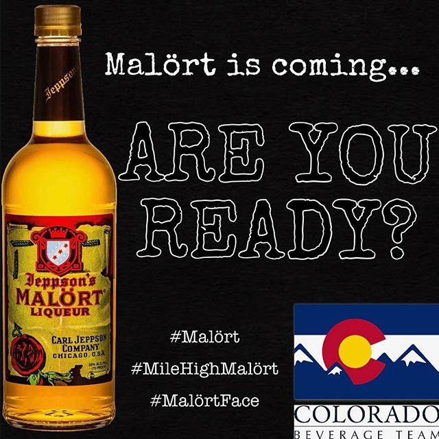 @jeppsonsmalort coming to Colorado!!! Get your #bartenderhandshake and #malortface ready!  Hits stores May 1, 2019