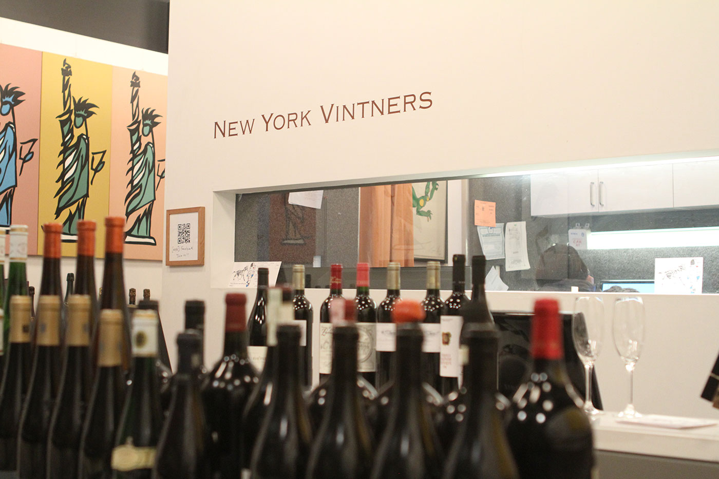 The warm & welcoming New York Vintners.