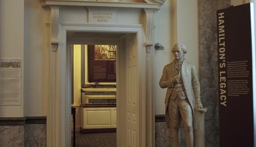 Hamilton Rom at Museum of American Finance