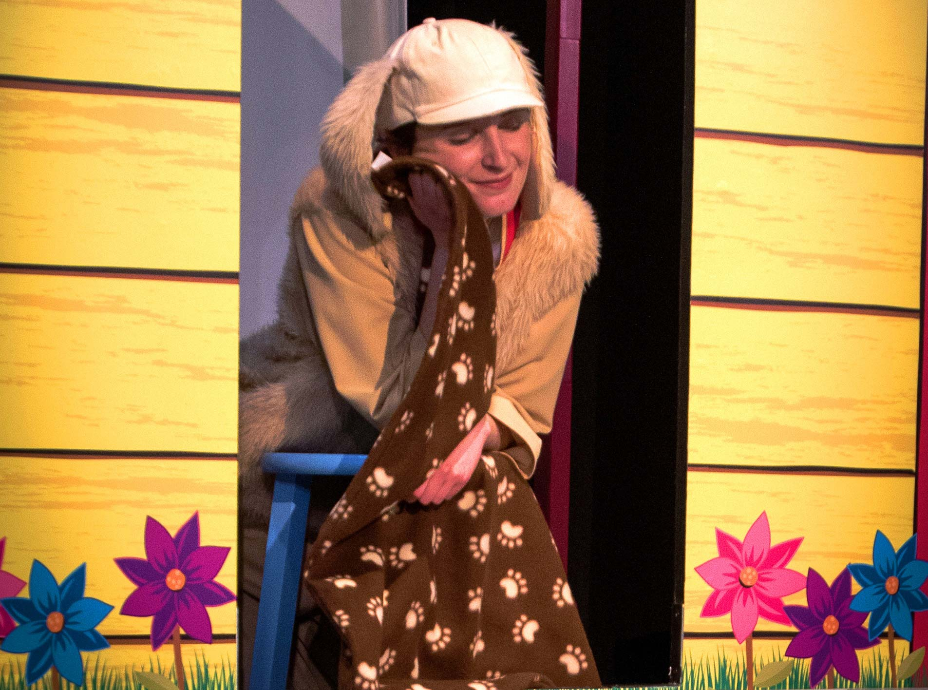 ArtsPower National Touring Theater brings   Biscuit The Little Yellow Puppy  to Tribeca PAC on Saturday, December 9th