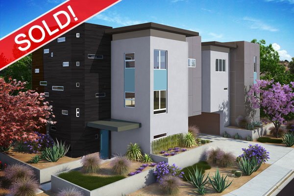 SOLD OUTGarrison Landing3141 Garrison St.Point Loma/San Diego, CA  - 4 luxury townhomes just 2 blocks from the harbor with amazing city and harbor views. Homes are a tri-level design ranging from 1,348 to 1,713 sq. ft. with 2 bedrooms, 2.5 baths and a 2-car direct-access garage.