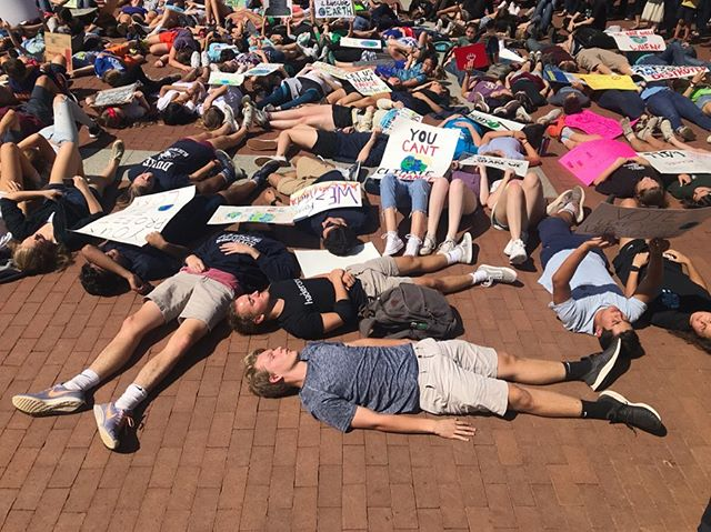 Charlottesville's #climatestrike! Our youth are mobilizing and we should follow and support with votes that they don't have the right to...yet!
