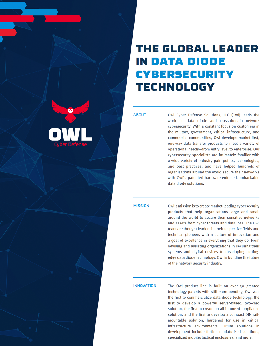 Owl Corporate Overview Brochure
