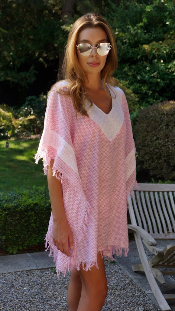 Antibes Kaftan Pink Product Code: 3A92SSPEWH