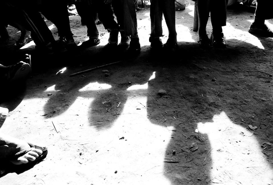 MST encampment, Apiai, Brazil, 2006