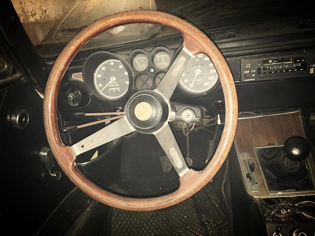 Coming right up! 1973 Alfa Romeo GTV 2000