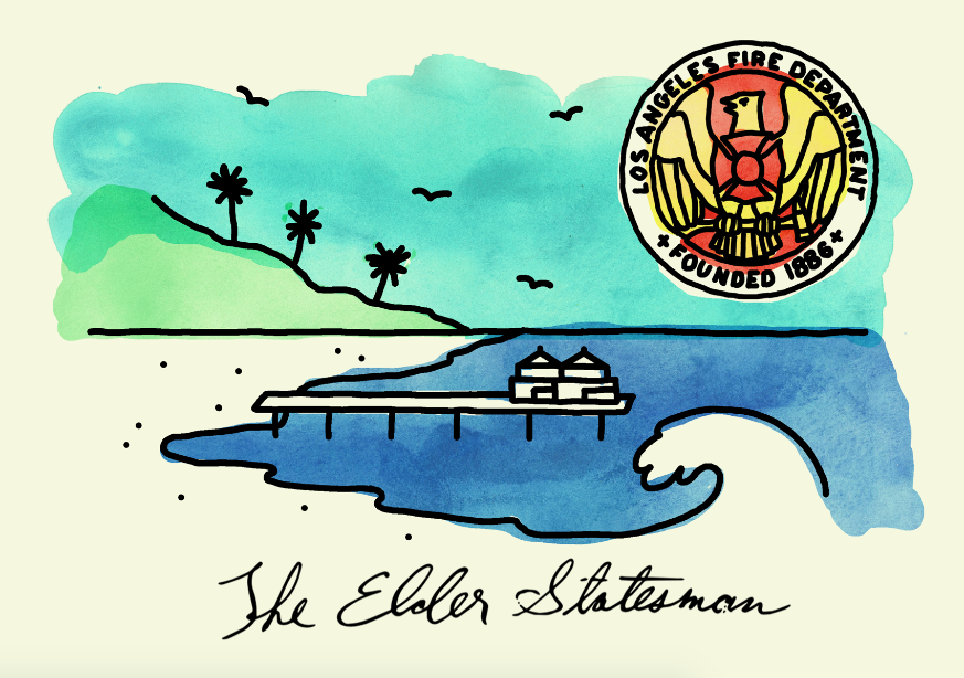 The Elder Statesman - Charity Campaign Letterhead