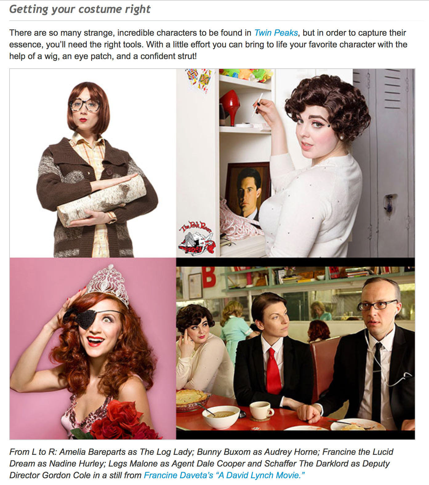 The Pink Room Burlesque assists DirecTV with how to throw an amazing Twin Peaks Party!
