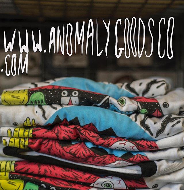 Hit the store! Got some stuff up right now for sale! www.AnomalyGoodsCo.com @anomalygoodsco