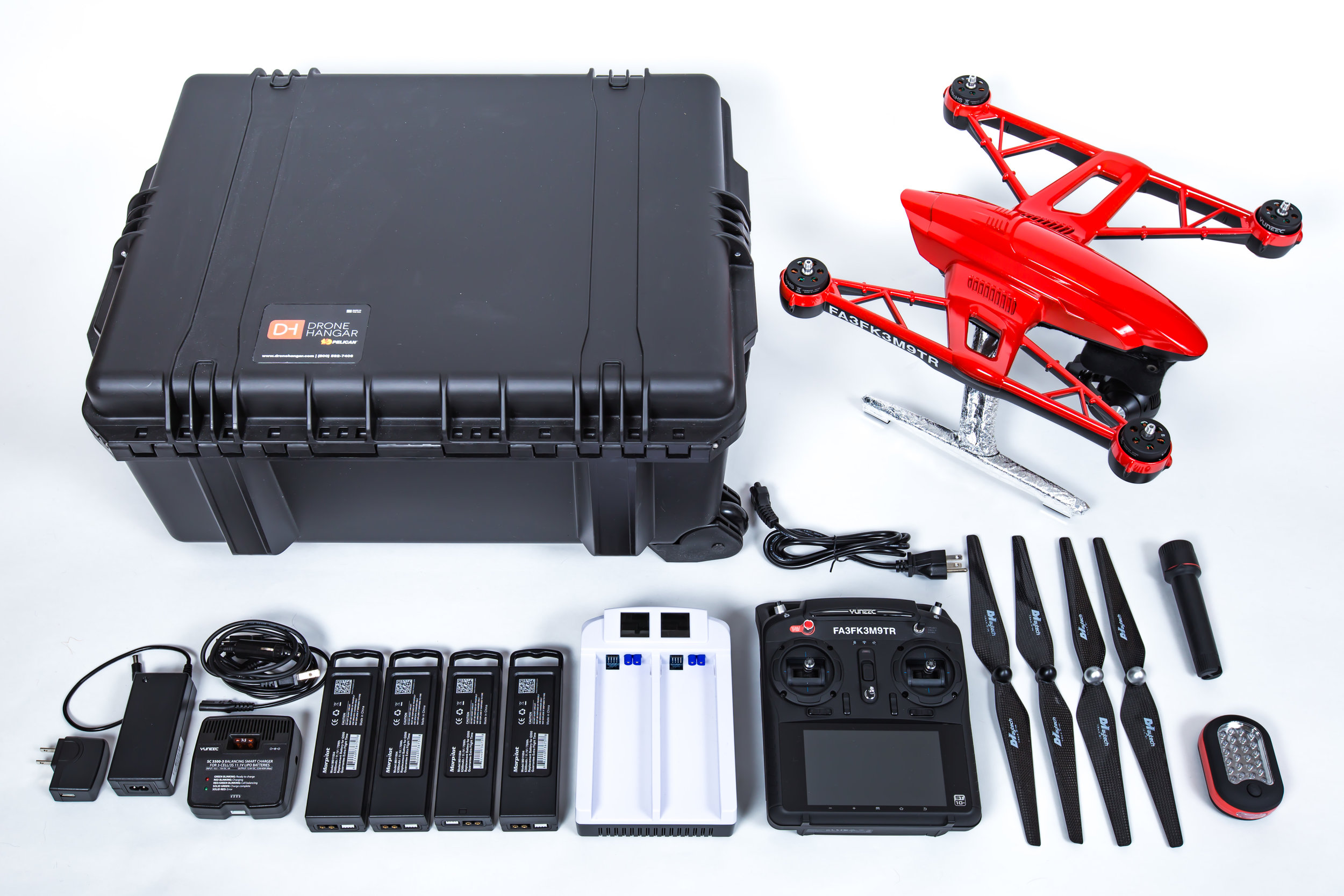 Complete Kit - Police, Fire, and Rescue.Your choice of a water tight Pelican case, or soft fabric for light weight durability.Includes everything needed to provide years of dependable service for years to come.