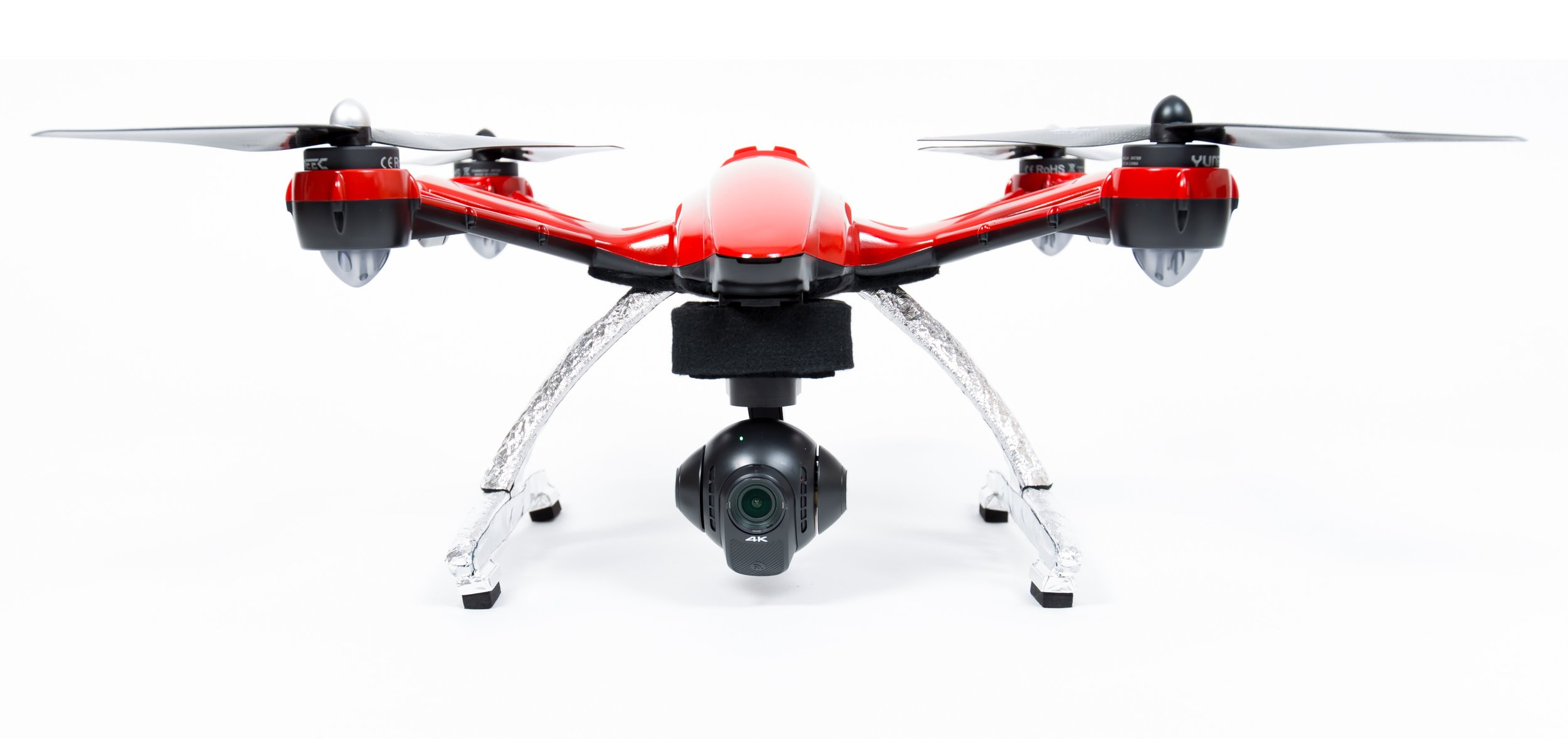 Public Safety #1 - The FD-USA Quadcopter FR is rugged and reliable. Made with a patented pre-oxidized polyacrylonitrile fiber, and carbon fiber rotor blades, designed for lasting durability.