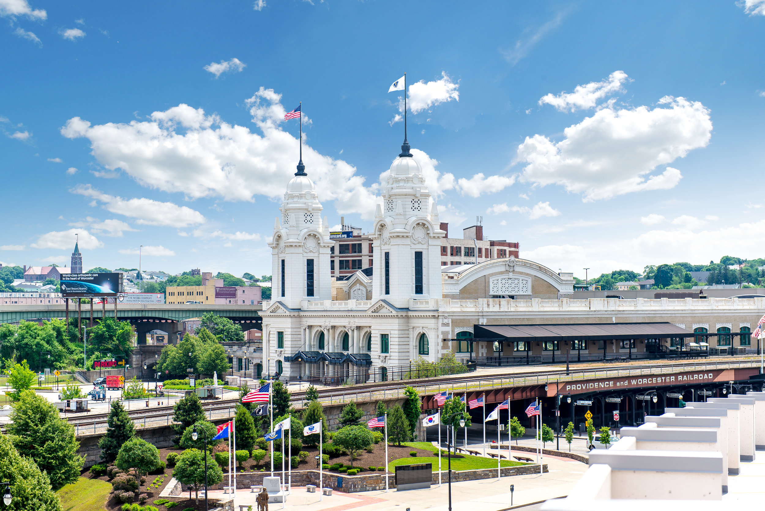 Union Station in Worcester, MA. Photo from Destination Worcester.