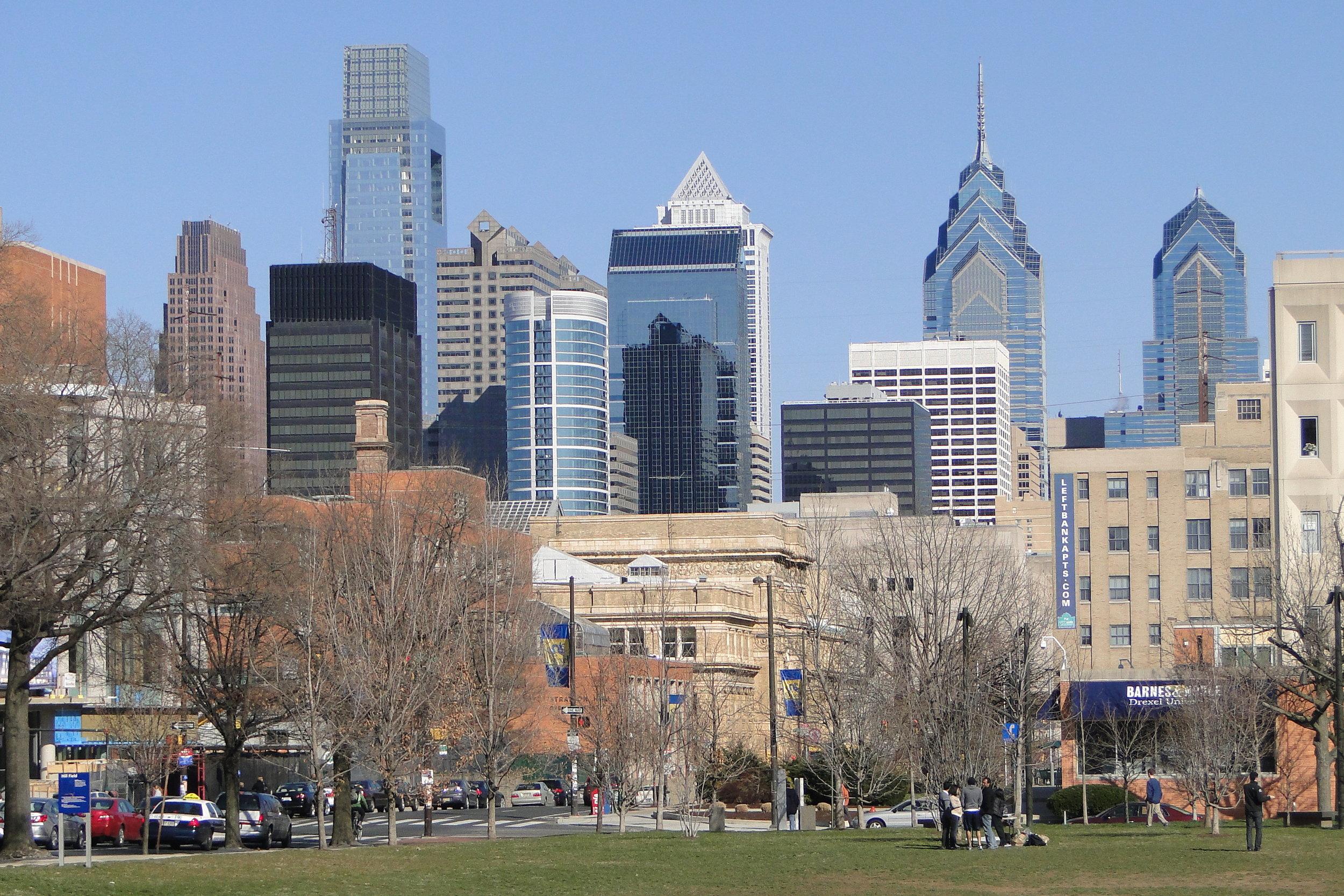 View_of_Philadelphia_Skyline_from_University_of_Pennsylvania_Downtown_Campus_-_Philadelphia_-_Pennsylvania.jpg