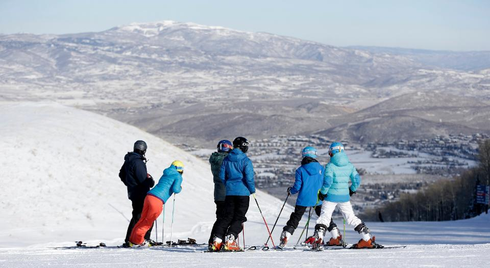 Park City offers a unique combination of town and mountain. Credit: AP Photo/Rick Bowmer