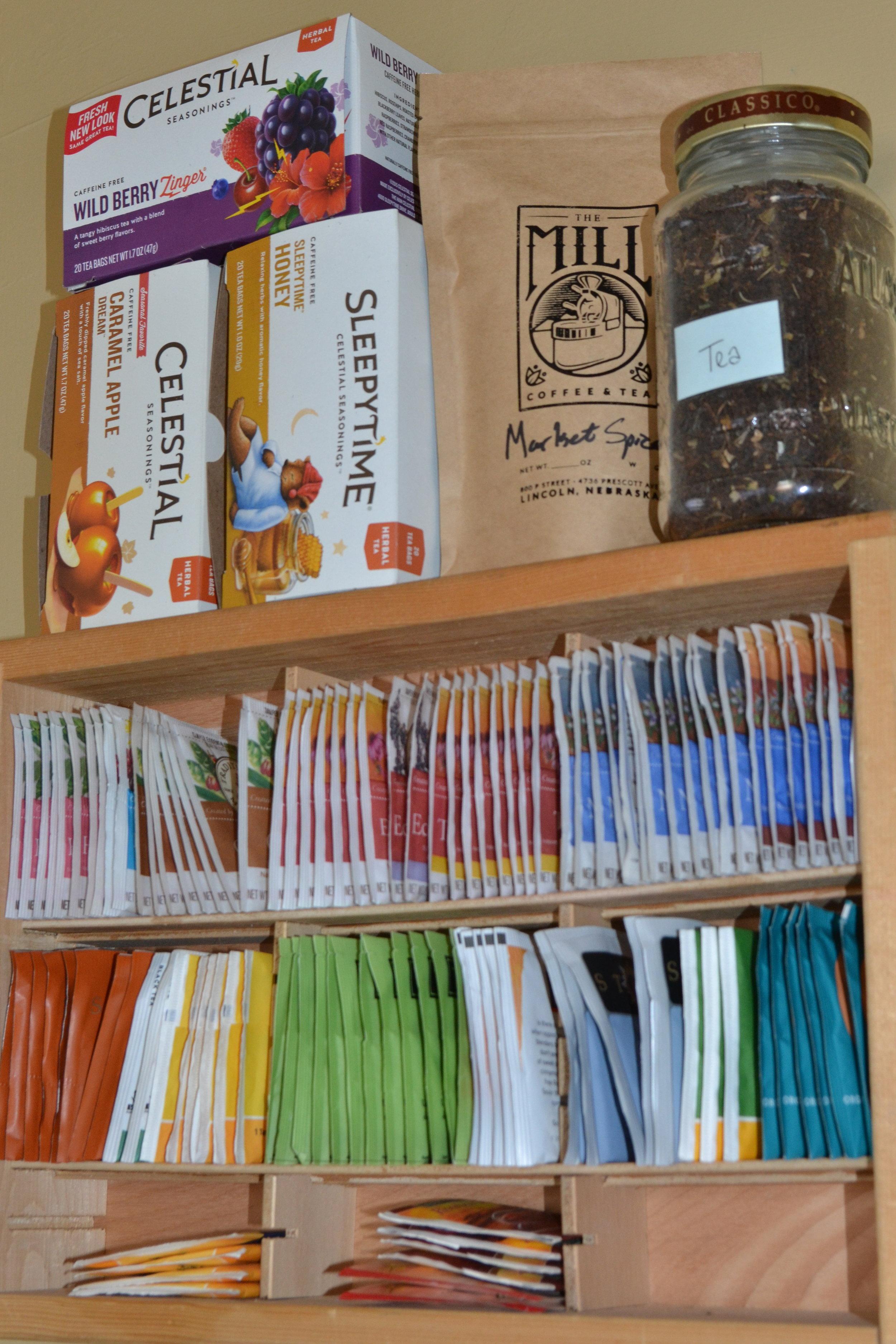 Tea Shelf Upright