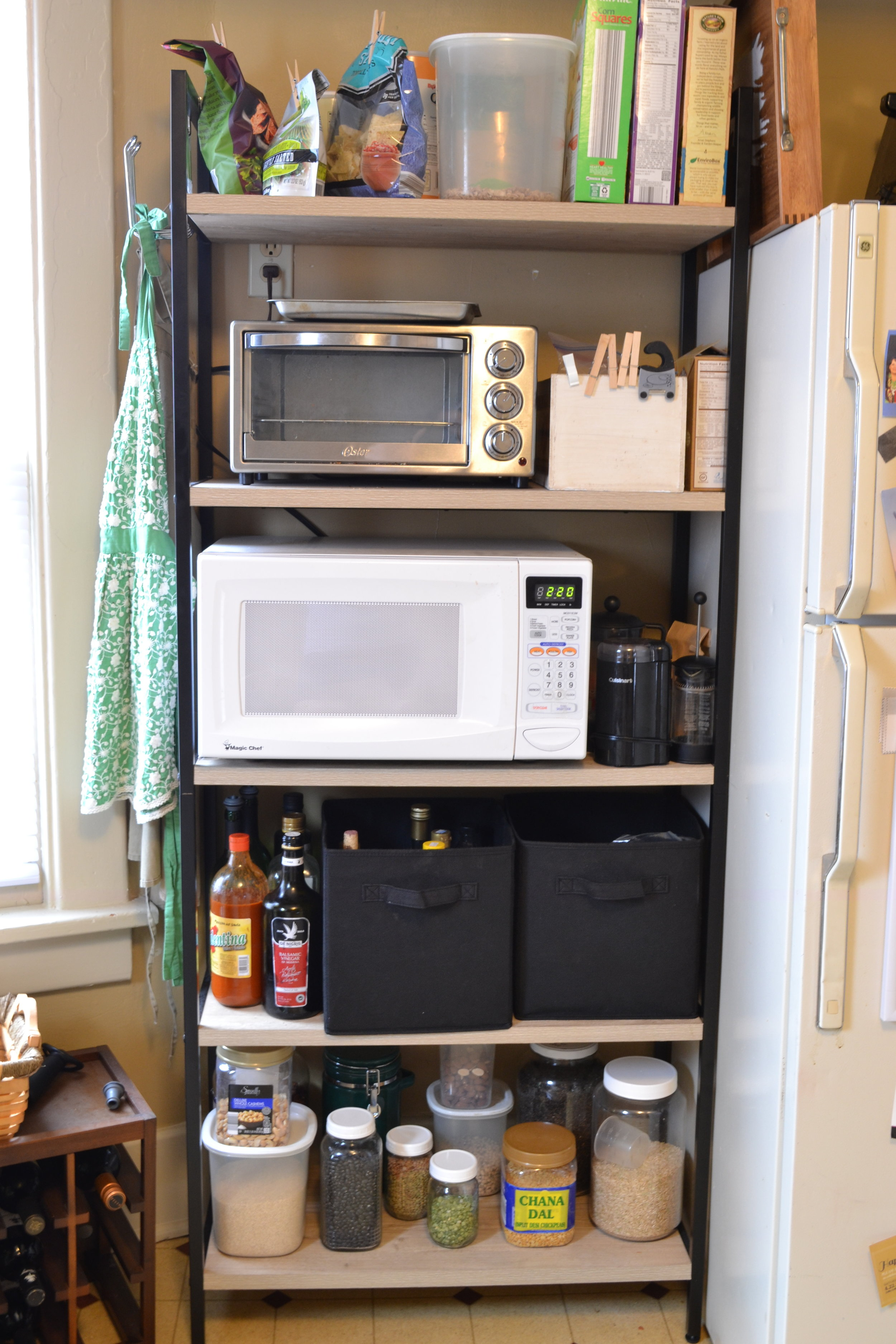 Creative ways to add more cabinet space in your kitchen.