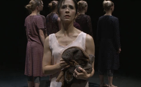 """tiffany nirider in """"Genevieve of the woods"""" at The Kennedy Center"""