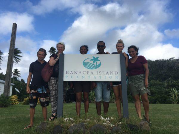 The survey team at Kanacea Island. Photo ©Vatuvara Foundation.