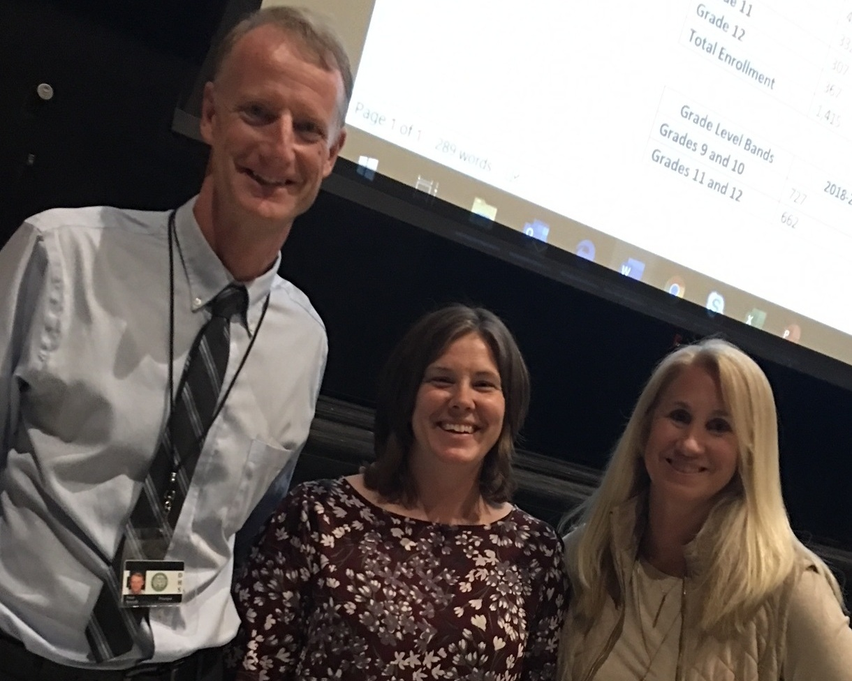 Science teacher Amy Poirer given $3,530 grant to pilot and train teachers and students on protein and DNA modeling.