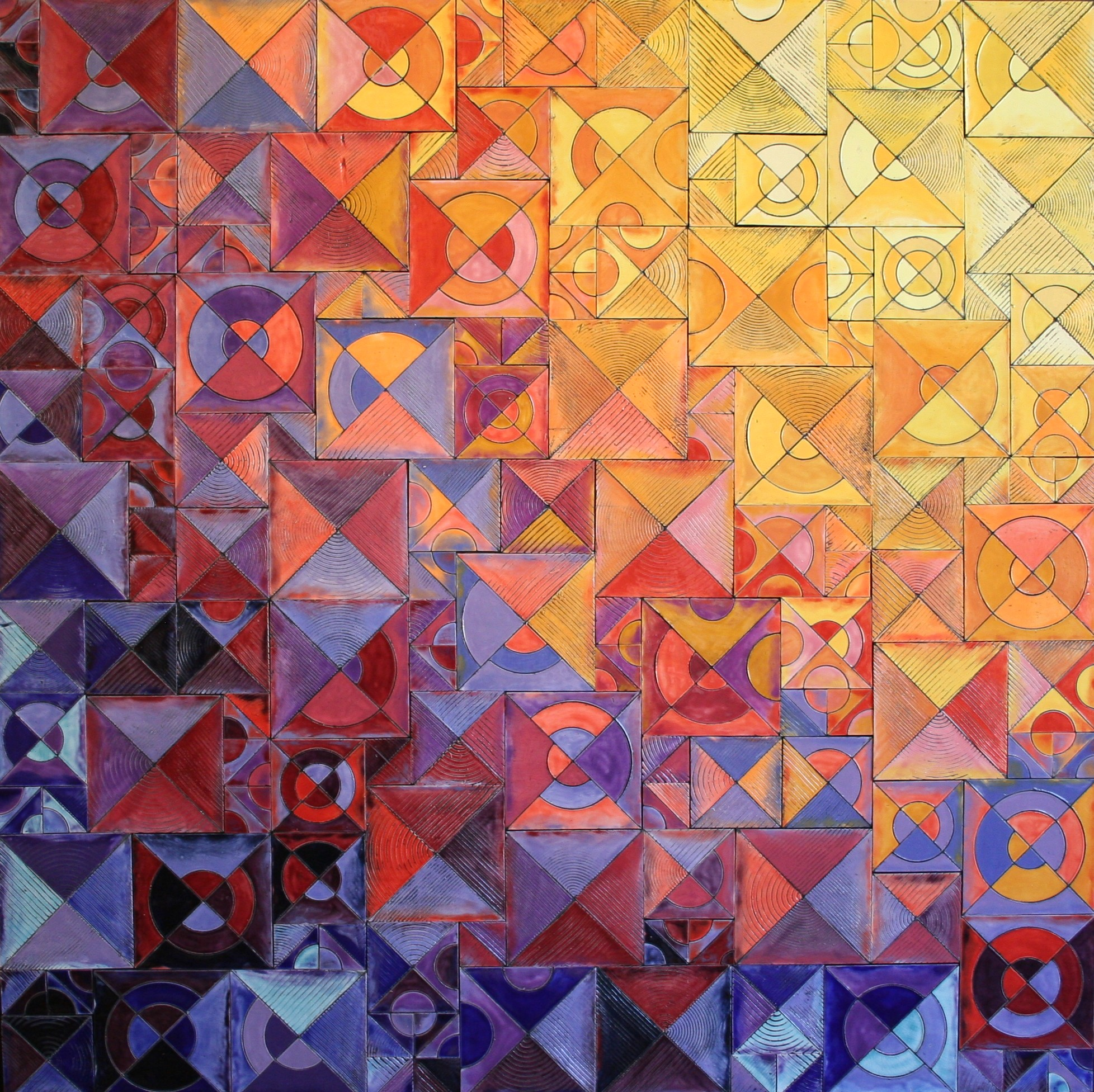 View From Above: Midwest- Sunrise, Sunset panel 2