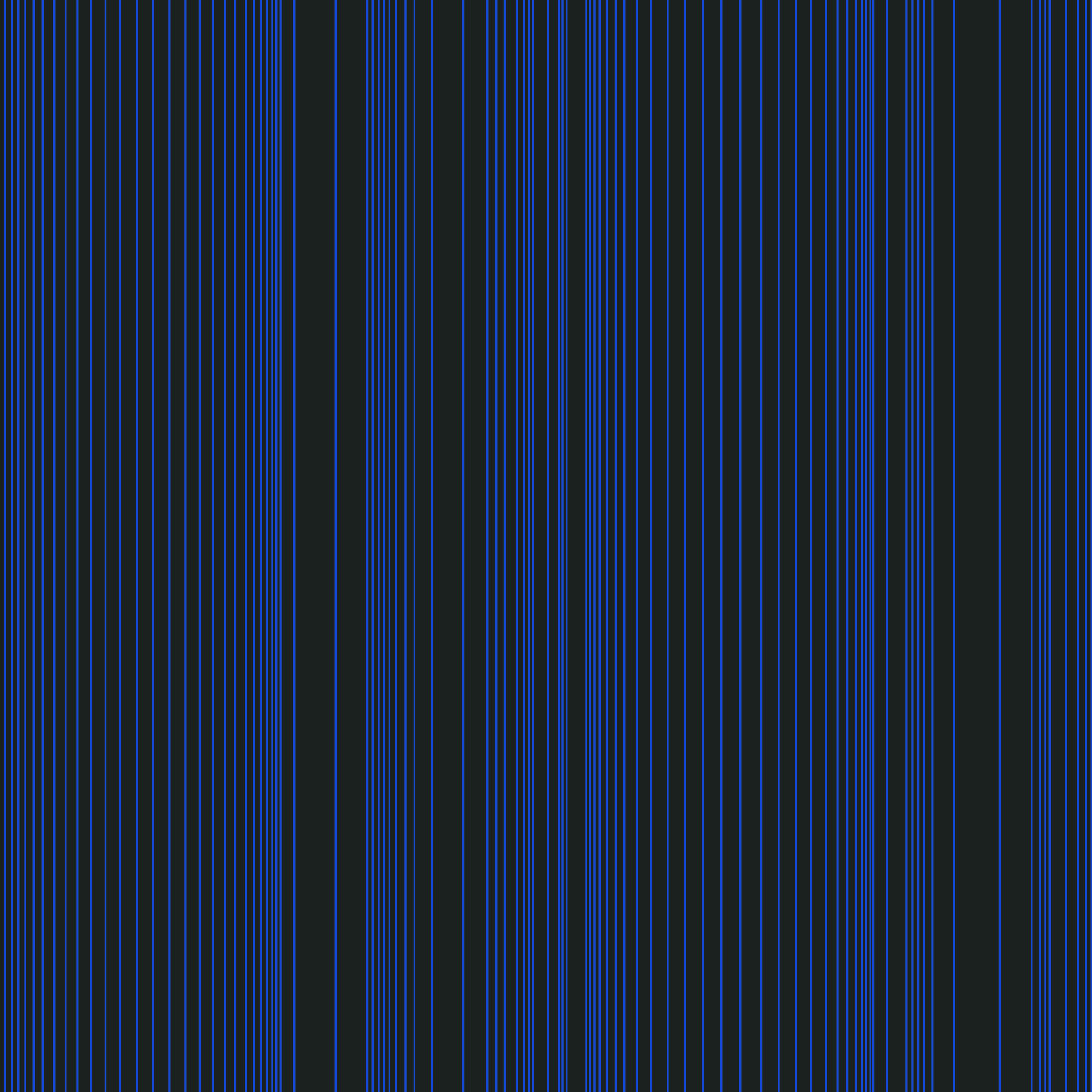 Encoded Stripe - Cobalt