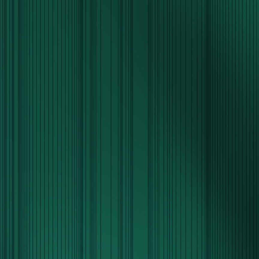 Encoded Stripe - Emerald Shimmer