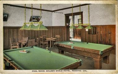 Golden Eagle Hotel Billiard Room