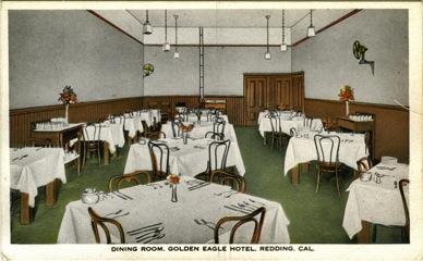 Golden Eagle Hotel Dining Room