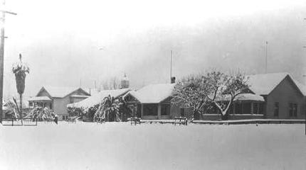 Oregon Street snow