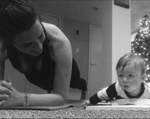 Tummy Time = Plank Time