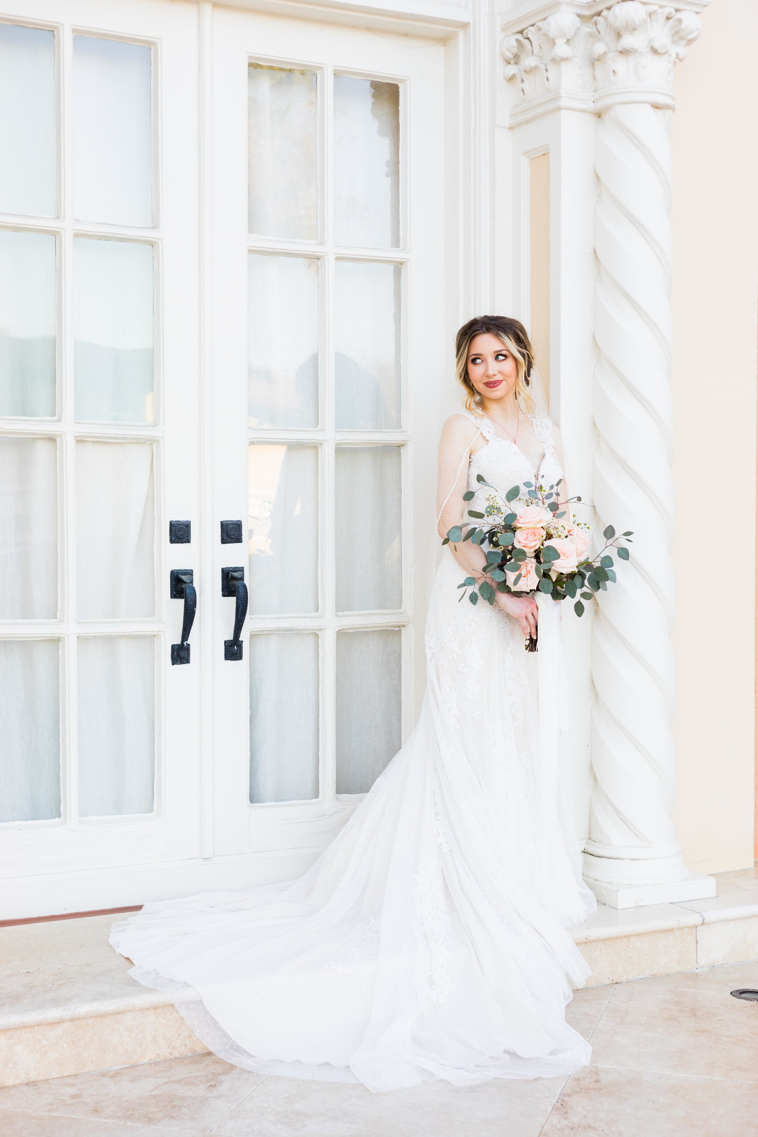1. You get the opportunity to wear your wedding dress more than once on your wedding day! - You paid a pretty penny for it, might as well get your money's worth! :D LOL!