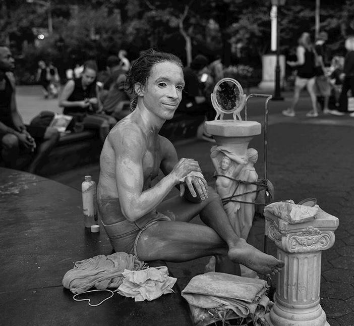 Johan Figueroa in Washington Square Park, NYC