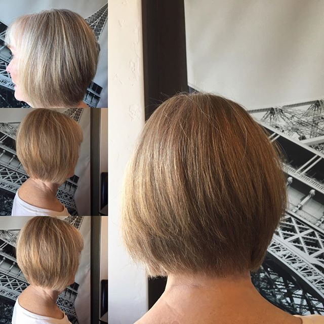 Bob for mature women- look younger!  Only by Debra @ urbanhairllc.salon