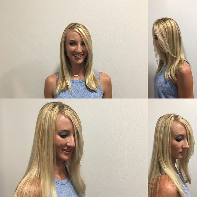 Summer blonde 👱♀️ makes  me feel fine, blowin' through the jasmine of my mind...Seals & Croft.  Book online now: urbanhair.salon.com #highlights #balayage #babylights #lob #urban#hair#bouldercolorado #boulder#schedulicity #booknow #schedule