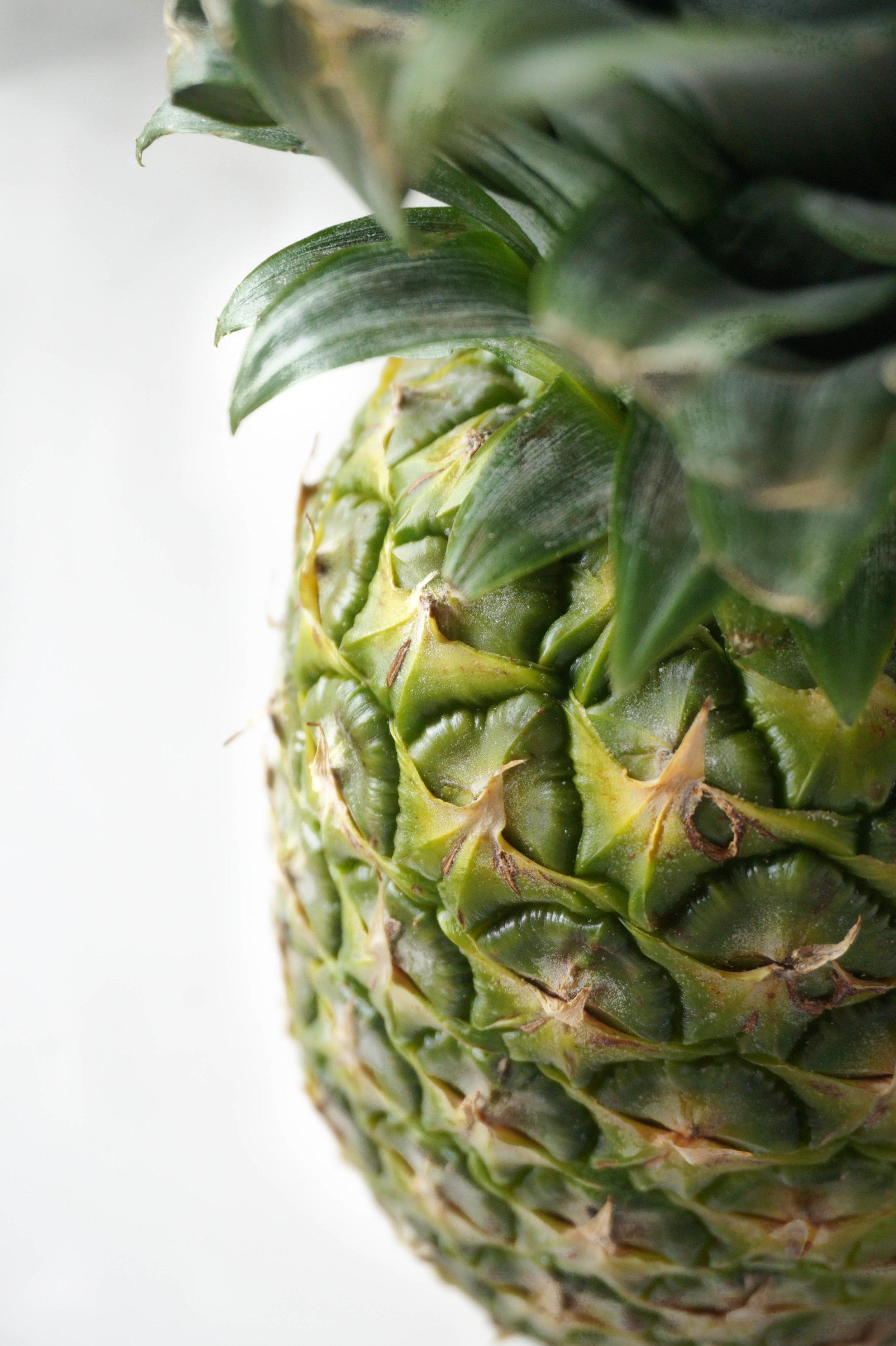 Pineapple Food Photography