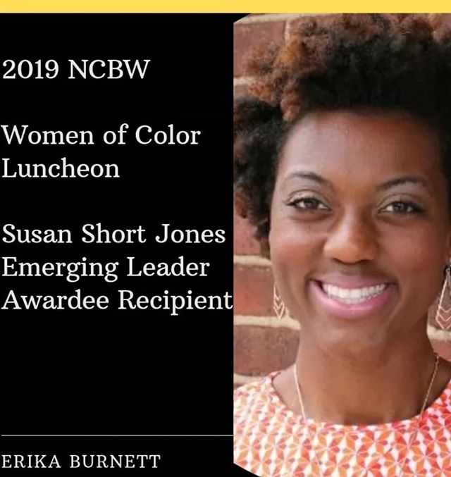 Humbled and honored to recieve this award today alongside true champions in our community!  Much Gratitude to National Coalition of 100 Black Women Metro Nashville Chapter
