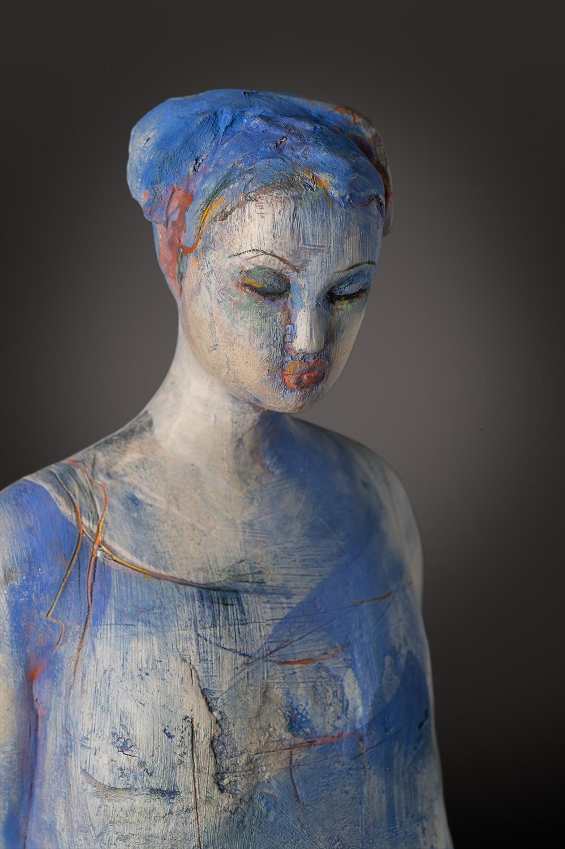 Blue Figure (detail)