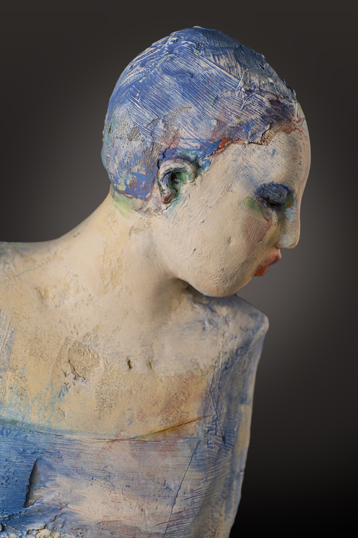Blue Shepherdess (detail)